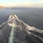 Wake boarding in Tarifa