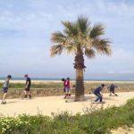 Longboarding in Tarifa